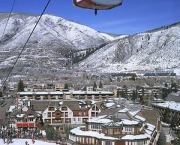 The Little Nell Hotel is located at the base of Ajax at Aspen and offers ski-in, ski-out accommodations  