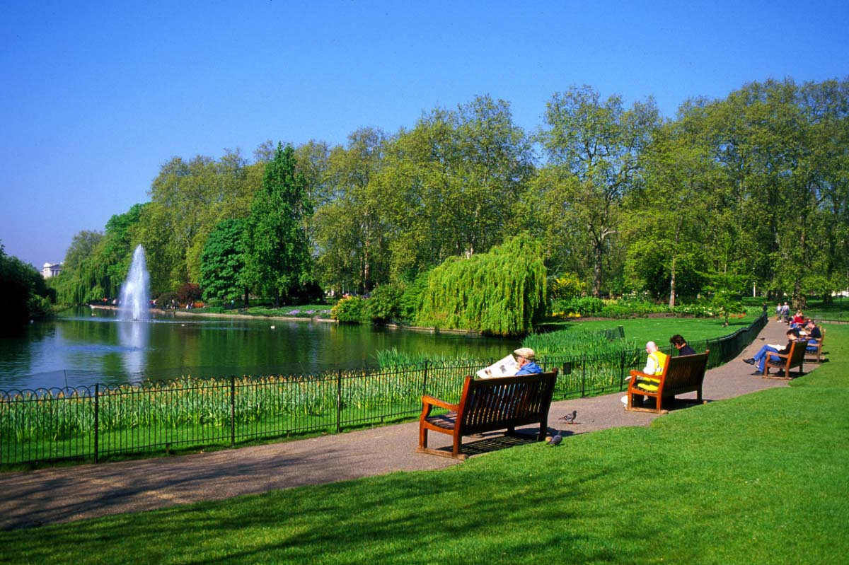 o green park em londres verde e beleza turismo. Black Bedroom Furniture Sets. Home Design Ideas
