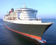 CUNARD LINE NEW FLAGSHIP 'QUEEN MARY 2'