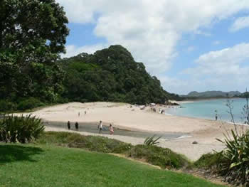 Hot Water Beach em Coromandel